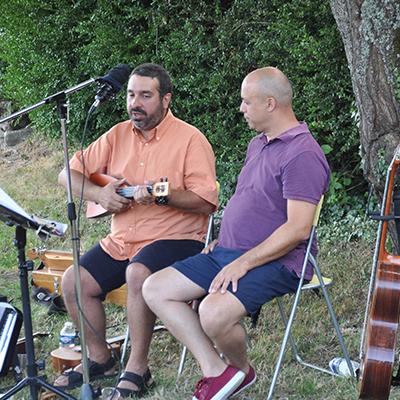 Jean Pierre Michy et Chakib Cadi Tazi