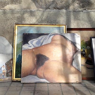 """""""L'origine du Monde (46 x 55)"""" Nicolas Heredia - La Vaste Entreprise"""